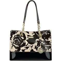 Anne Klein In Full Bloom Small Chain Tote - Anne Klein - Handbags & Accessories - Macy's