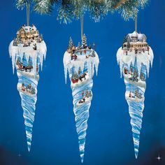 Thomas Kinkade Village Christmas Icicle