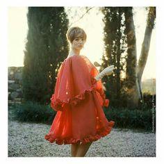 Elsa Martinelli in Dior, 1960 photo by Mark Shaw
