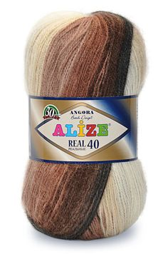 Angora Real 40 Batik Alize agora wool high by THEMAGICYARNS