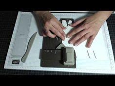 Box für Taschentücher mit dem neuen Stanz- und Falzbrett für Geschenktüten - YouTube