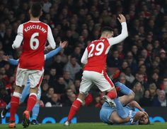 cool Exasperated Arsene Wenger urges ill-disciplined Granit Xhaka to 'master the technique of tackling'