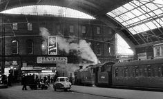 Liverpool Central Station 1950s