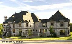Find your dream european style house plan such as Plan which is a 7618 sq ft, 6 bed, 8 bath home with 5 garage stalls from Monster House Plans. Luxury Floor Plans, Luxury House Plans, New House Plans, Dream House Plans, House Floor Plans, European House Plans, Country House Plans, Mountain House Plans, Monster House Plans