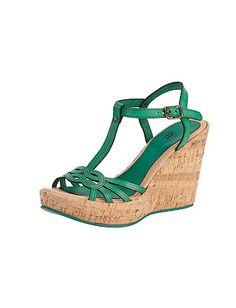 Sandalette in grün