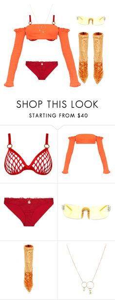 """""""Kruise Kit"""" by astrro on Polyvore featuring Agent Provocateur, Nanda Home, STELLA McCARTNEY, Christian Dior and Zimmermann"""