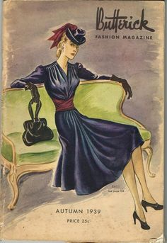 CD Picture Pack Butterick Fall 1930s Quarterly Pattern Book Catalog E-Book on CD #Butterick