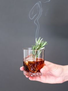 Midnight Manhattan with fig-infused bourbon! // Did someone say Add some bourbon and you have this and cocktail! Manhattan Cocktail, Alcoholic Drinks, Beverages, Whiskey Cocktails, Irish Whiskey, Friday The 13th, Glass Bottles, Whisky, Bourbon
