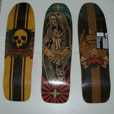 Shape Skate Oldschool Insanos 9,5 X 33 - R$ 100,00 no MercadoLivre