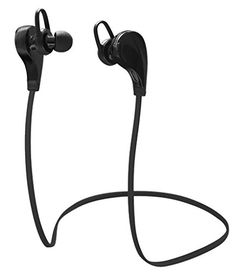 Bluetooth Headset WOFALA Bluetooth Noise Cancelling Wireless Stereo Sport Headset Headphones For iPhone Android and Other Bluetooth DeviceBlack * See this great product. (This is an affiliate link) #BluetoothHeadsets