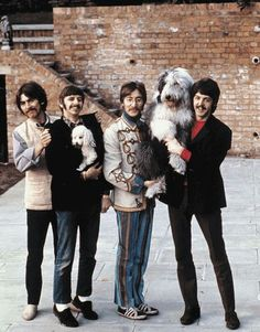 Extremely rare color photographs of the Beatles [29 pictures]