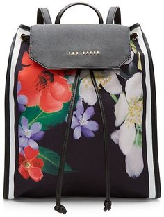 88af45cab0 Ted Baker Forget Me Not Foldaway Backpack Unique Handbags, Purses And  Handbags, Backpack Straps