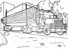 Tractor Coloring Pages, Adult Coloring Pages, Coloring Books, Art Drawings Sketches, Pencil Drawings, Transformers Drawing, 2 Year Old Birthday Party, Logging Equipment, Character Art