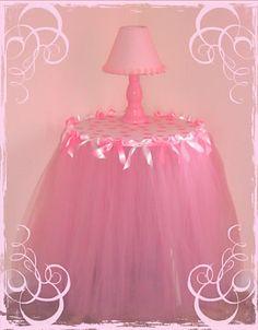 all girl tulle table skirt