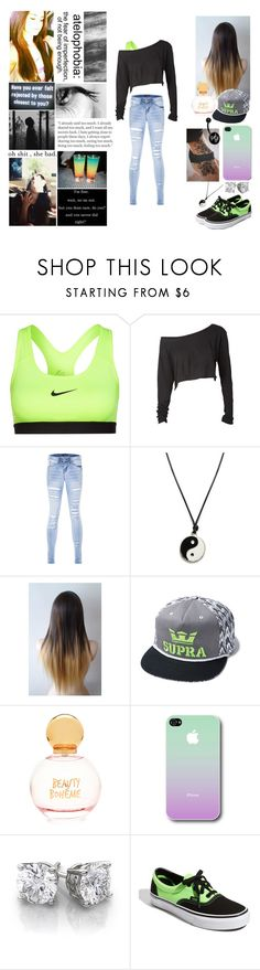 """""""Ain't Worth the Whiskey ~ Selena"""" by iloveboyfriend ❤ liked on Polyvore featuring NIKE, Supra, Forever 21 and Vans"""