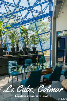 Location de vacances insolite à Colmar : Le Cube, une maison d'architecte aux immenses espaces à deux pas de la Petite venise