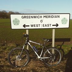 First outing with new bike. Frosty has hell. Greenwich Meridian, West East, Mountain Biking, Cube, Cycling, News, Instagram, Biking, Bicycling