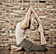 First time I did a pigeon pose I cried. Like, out of nowhere! It was a little embarrassing but my teacher did say that we hold a lot of our emotions in our hips so I guess this pose helped me get rid of something my mind and body no longer needed.