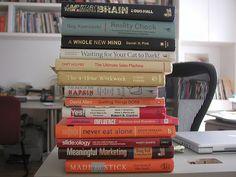Libros recomendados de Marketing, productividad y creatividad by Gustavo Arizpe, via Flickr