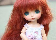 bjd 1/8 doll lati yellow sunny benny lea momo(2 additional hand parts)  free eyes free shipping  Lovely baby dolls