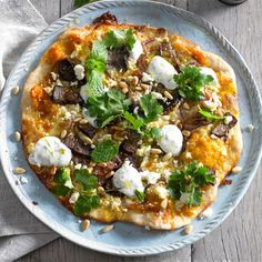 Try this Moroccan Lamb Pizza recipe.