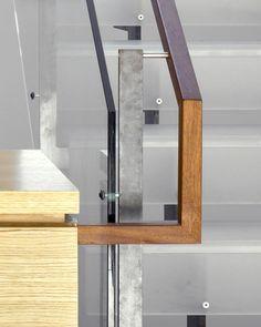 Stair handrail detail.