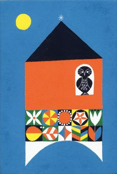 Matsue Maiko 70's style retro kitsch scandi style print work