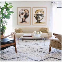 """Sally King Benedict on Instagram: """"Check out the tour of my dear and talented friend @marysiaswim 's Santa Monica family home on @lonnymag now! Thrilled to be hanging in such a beautiful space :) gorgeous design by @srinteriors and photos by @jessiewebster  great pieces from @midcenturyla"""""""