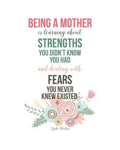 Sunday Encouragement: Motherhood Quote | landeelu.com