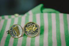 coin cufflinks | www.onefabday.com
