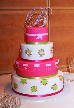 Love this! It's so cute if you had a pink and green theme! :)