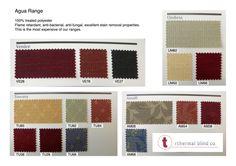 Agua fabric Thermal Blinds, Roman Blinds, Fabric, Tejido, Tela, Cloths, Roman Shades, Fabrics