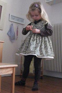 robe petite fille modele smichkine