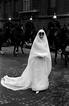 Photographer Frank Horvat For Vogue Brides, 1961