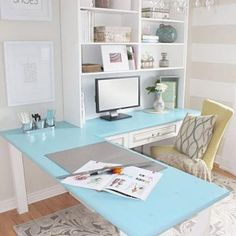 Cubicle Decor Ideas | Style Me Thrifty