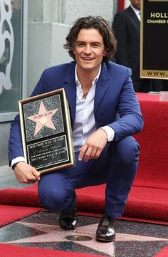 Orlando Bloom gets a star on The Hollywood Walk of Fame