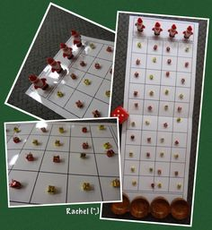 "Making up board games... How many presents can Father Christmas collect? - from Rachel ("",)"