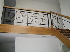 Trapleuning Steel Railing Design, House Stairs, Iron Doors, Railing Design, Staircase Railings, Interior Architecture Design, Balcony Grill Design, Grill Door Design, Stair Railing Design