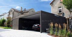 metal carport-steel carport-buy-metal carport-prices-with -.- metallcarport-stahlcarport-kaufen-metall-carport-preise-mit-abstellraum-konfigur… metal carport-steel carport-buy-metal carport-prices-with-lumber-configurator-design-dortmund - Wooden Garage Doors, Garage Door Design, Carport Designs, Pergola Designs, Pergola Kits, Pergola Ideas, Carport Modern, Carport Garage, Garage Kits