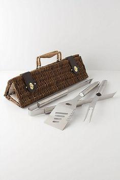 Barbecue Utensils Basket -  $198, Anthropologie.com