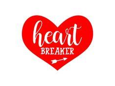 Heartbreaker Arrow Heart  SVG Studio3 PDF PNG Jpg File