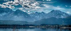 Hopfensee-Panorama Bavaria