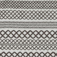 Besos in Tempest | Knoll Luxe #fabric #textiles #embroidery #brown