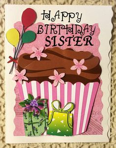 Happy Birthday Sister I love you khokkh. Happy Birthday Celebration, Happy Birthday Sister, Happy Birthday Quotes, Happy Birthday Images, Happy Birthday Greetings, Birthday Pictures, First Birthday Parties, Birthday Sayings, Birthday Cake