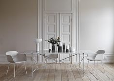 """Invited by Maison&Objet to give the """"Jury Découvertes"""" Award, I chose Danish company: Handvärk for their gorgeous marble coffee table 90 White Dining Table, Scandinavian Home, Design Furniture, White Houses, Beautiful Interiors, Decoration, Home And Living, Architecture Design, Home Decor"""