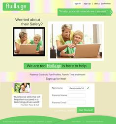 www.Avilla.ge a social network that protects our children. ;)