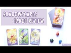 Hi friends~ today I'd like to share with you the review of one of my favorite tarot decks. It's the Shadowscapes Tarot by Stephanie Pui-Mun Law & Barbara Moore. This edition includes all the mayor and minor arcana plus the guide book which is super helpful. The artwork on each card is beautiful and includes many watercolor (?) images with fairies, foxes, dragons and more whimsical creatures :)