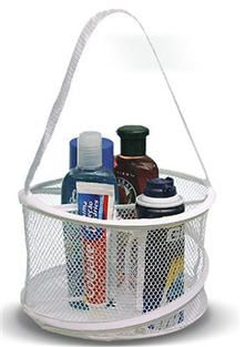 Shower caddy for guys
