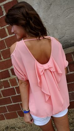 #sweet #bow #backless