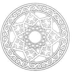 Malvorlagen Mandala  15